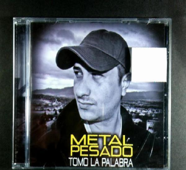 Metal pesado - tomo la palabra - cd 2011 - metal pesado