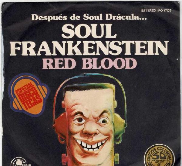 Red blood - soul frankenstein / blood transfusion. single