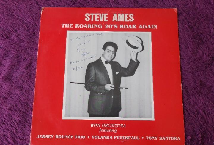 Steve ames -the roaring 20's roar again,vinyl lp us 1986