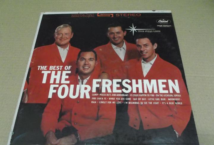 The four freshmen (lp) idem 1961 año – 1961 – edicion
