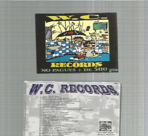 W.c. records punk redical ska etc español