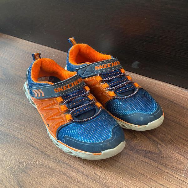Zapatillas skechers con luz