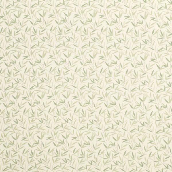 Tejido estampado willow leaf verde seto