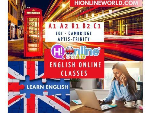 Clases de inglés online personalizadas