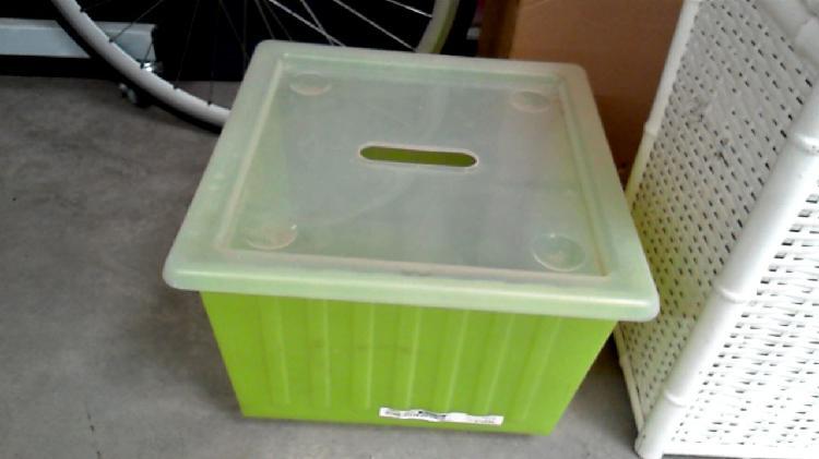 Compre la oportunidad de caja plástico verde