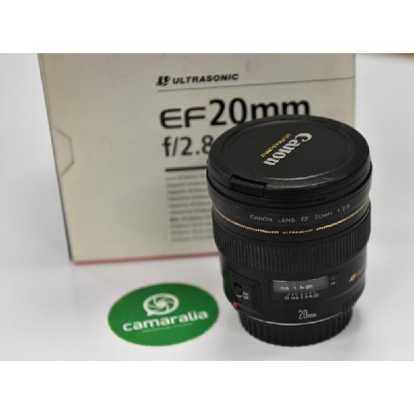 Canon ef 20 mm f2.8 segunda mano