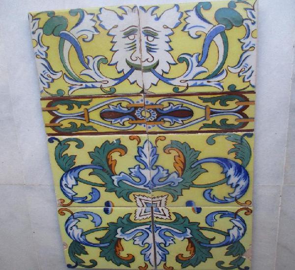 Composicion azulejos siglo xix triana