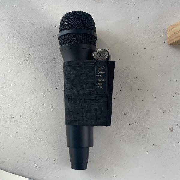 Funda de micrófono hecha a medida para equipos de audio