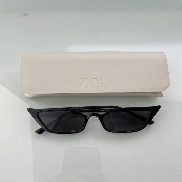 Gafas de sol negras cat eye zara