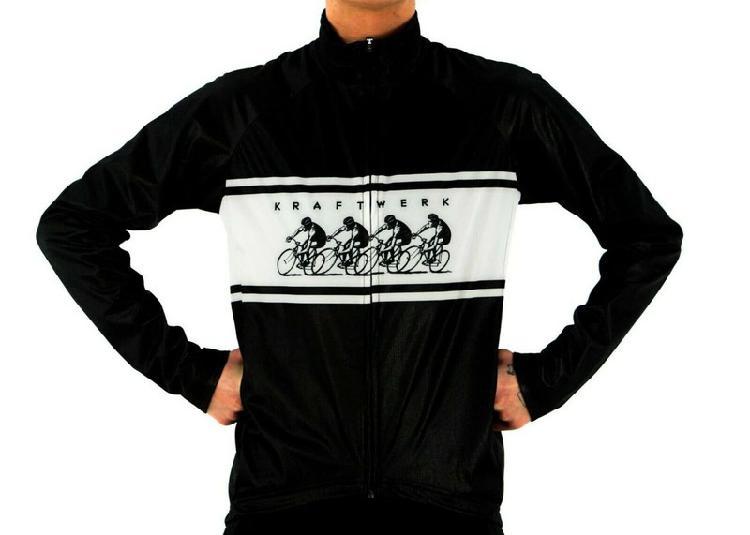 Kraftwerk tour de france windbreaker cycling black with tags