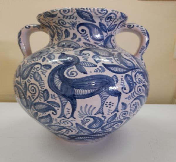 Preciosa pieza de cerámica de talavera