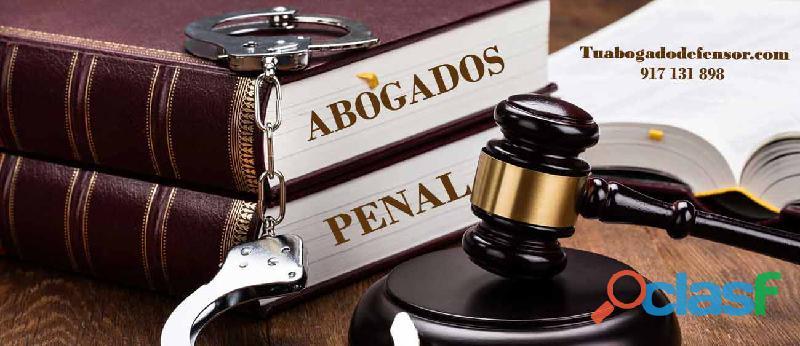 Abogados Penalistas en Madrid | Tu Abogado Defensor