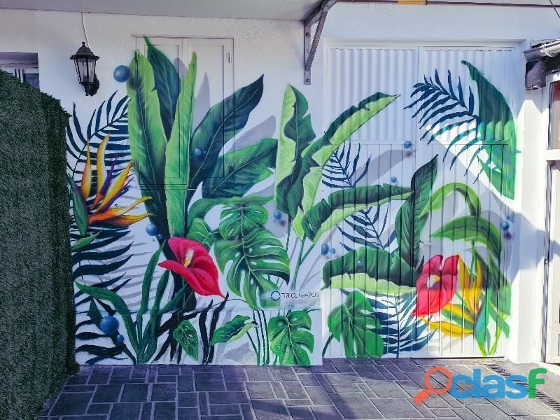 Grafiti muralista