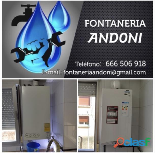 Fontanería y calefacción Andoni