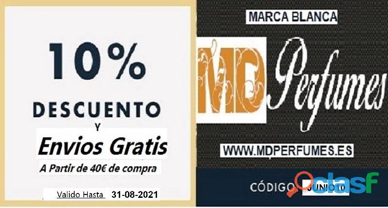 Oferta 10€ Perfume Mujer MOA CACHARRE nº64 Alta Gama Equivalente 100ml 1