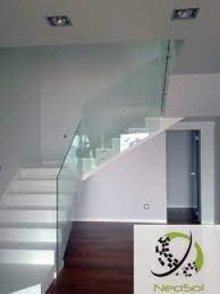 Barandas de vidrio y acero inox