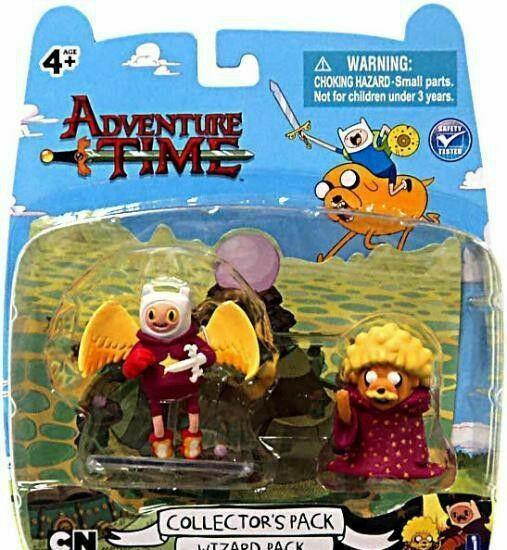 Blister set 2 figuras hora de aventuras 4-5cm (pack de