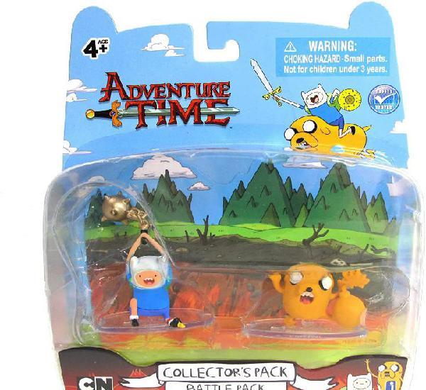 Blister set 2 figuras hora de aventuras 4-5cm pack de