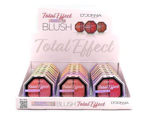 D'donna total effect infaillible blush