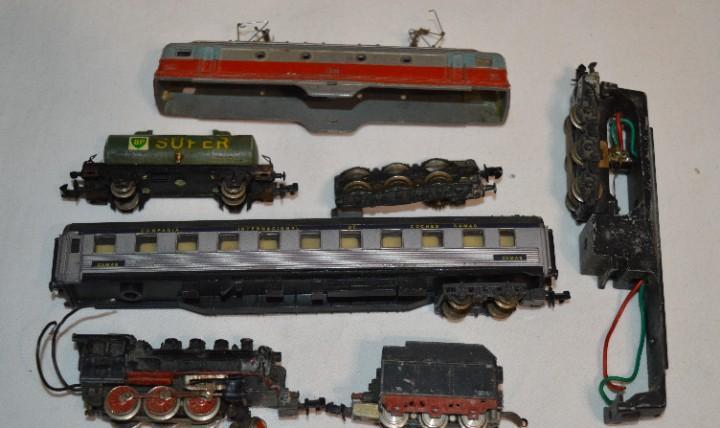 Escala - n / 3n - lote vagones y locomotoras ibertren