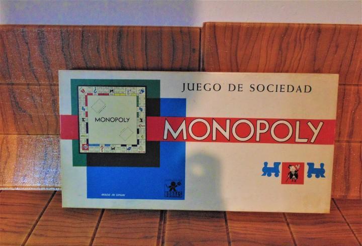 Juego de mesa monopoli juego de sociedad modelo caja