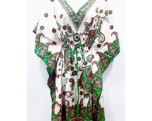 Kaftan vestido largo mix