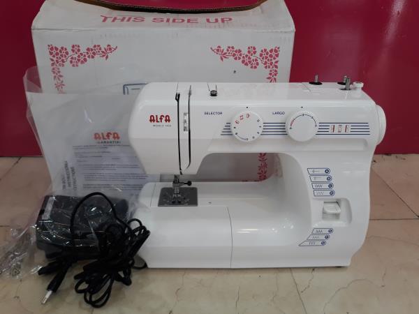 Maquina coser alfa modelo 1436. nueva a estrenar segunda