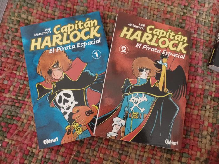 Dos primeros números de capitán harlock