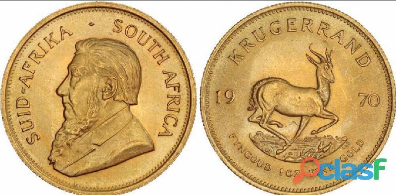 Krugerrand Sudafricano ya a la venta aquí