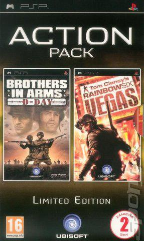 Brothers in arms d-day + rainbow six vegas psp