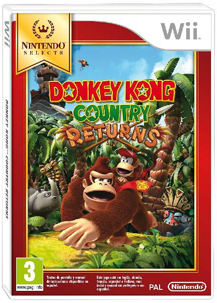 Donkey kong country returns selects wii