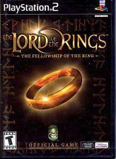 El senor de los anillos la comunidad anillos ps2