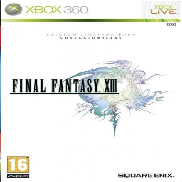 Final fantasy xiii edicion coleccionista x360