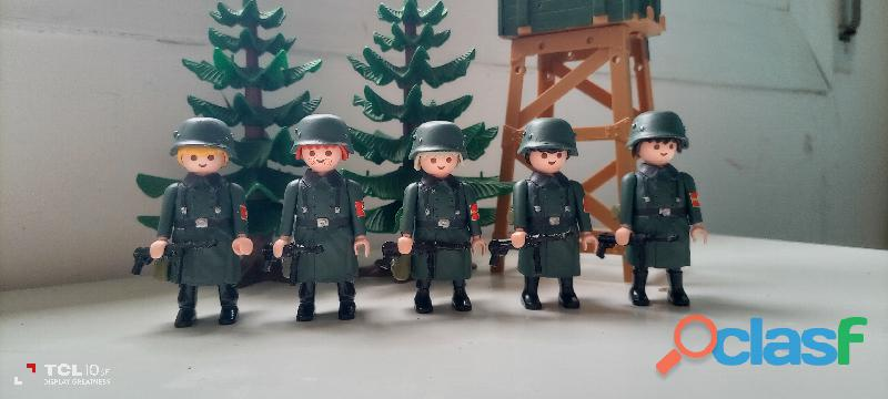 Playmobil lote alemanes custom.