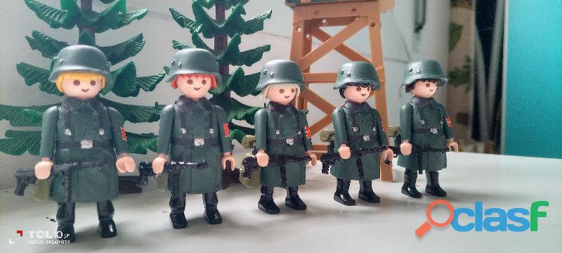 Playmobil lote alemanes custom. 1