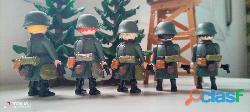 Playmobil lote alemanes custom. 2