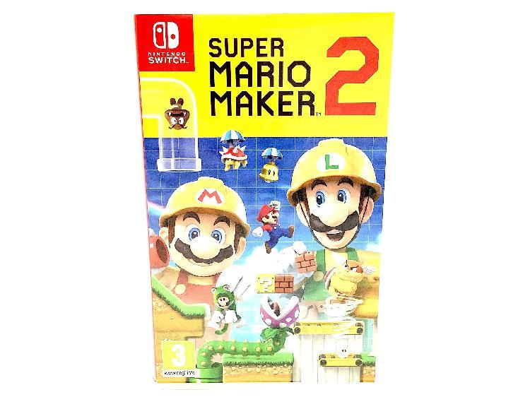 Super mario maker 2 (sin dlc)