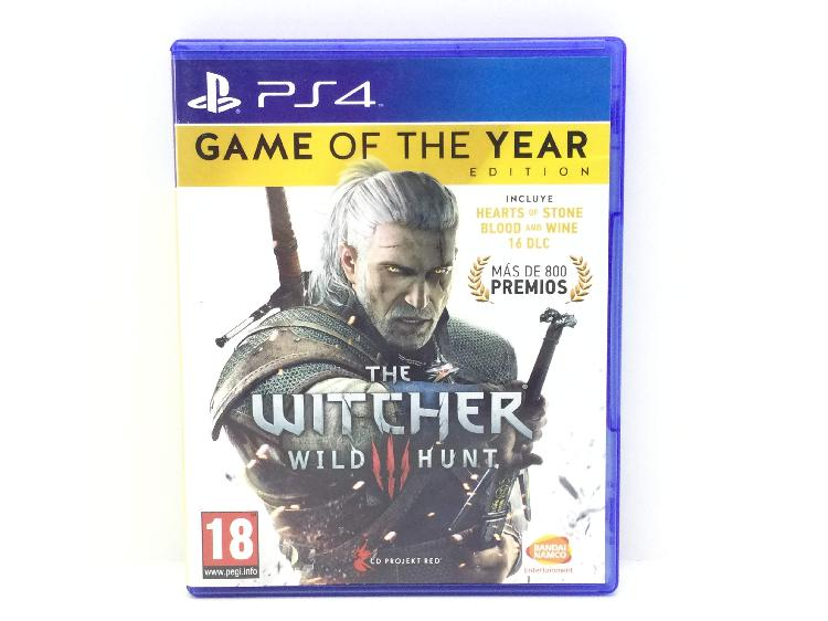The witcher 3 wild hunt goty edition ps4