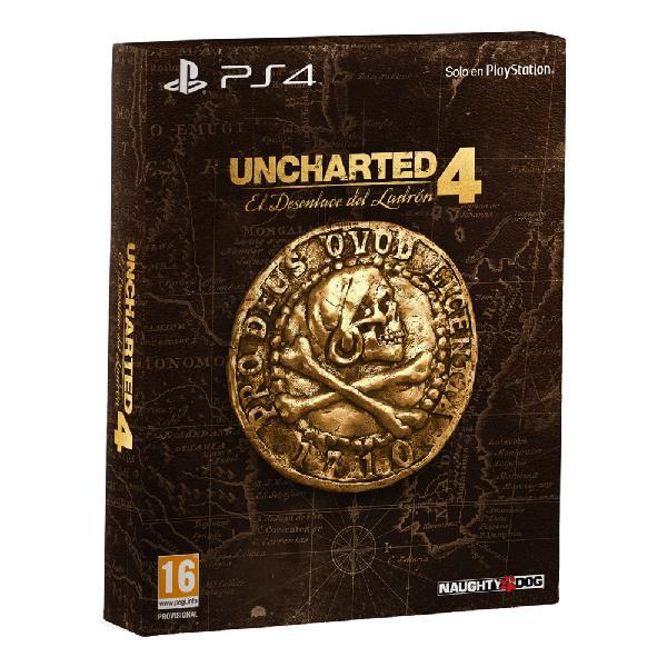 Uncharted 4: el desenlace del ladron edicion especial ps4