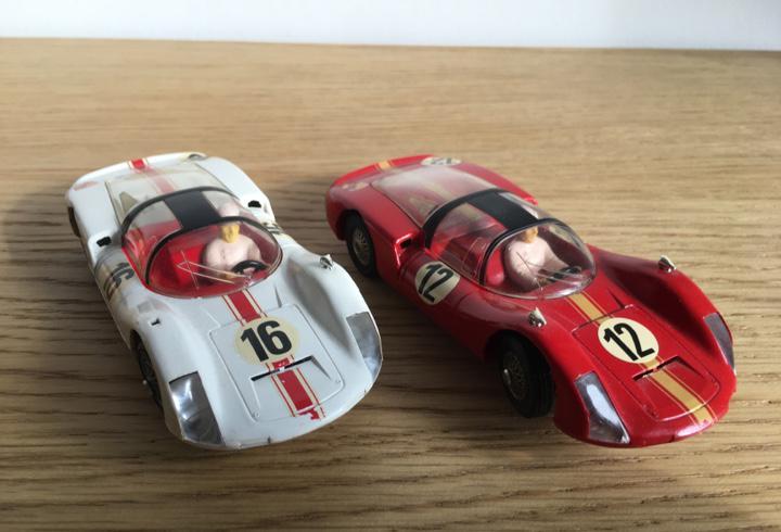 2 coches porsche carrera 6 marklin sprint