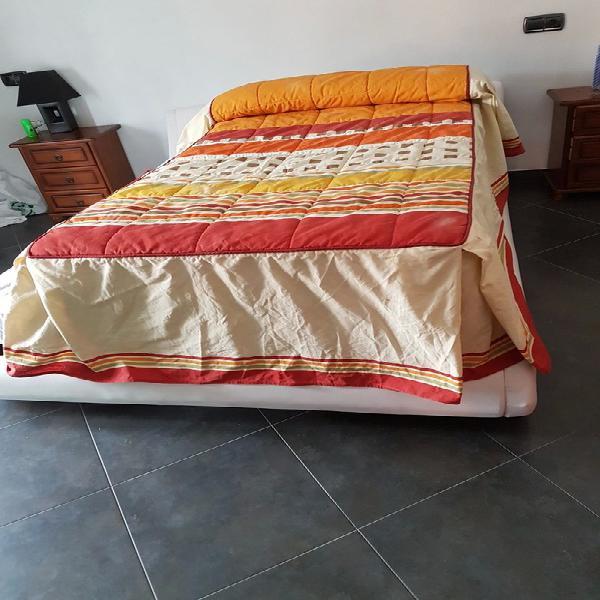Edredon de cama individual de 90
