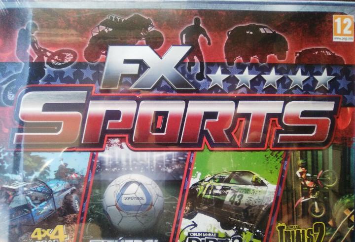 Fx sports deluxe (pack videojuegos deportivos de pc). nuevo