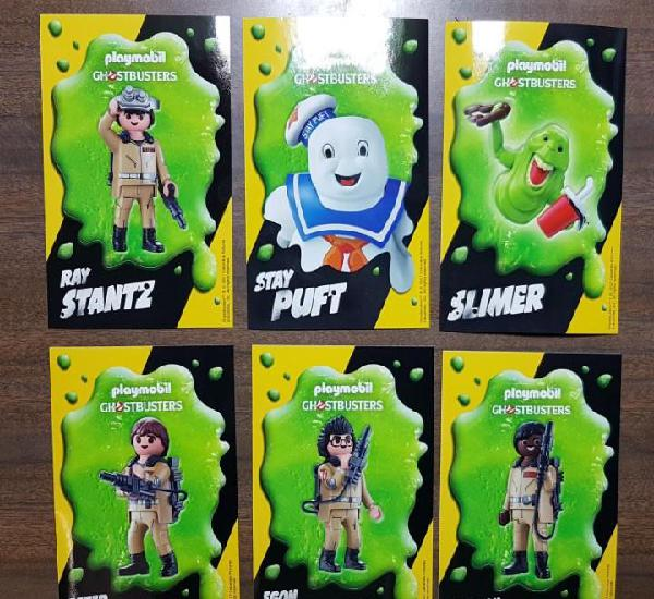 Juego completo de pegatinas playmobil ghostbusters