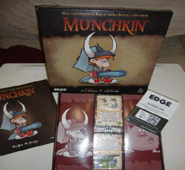 Munchkin 1: apuñala a tus amigos (nueva edicion) - juego de