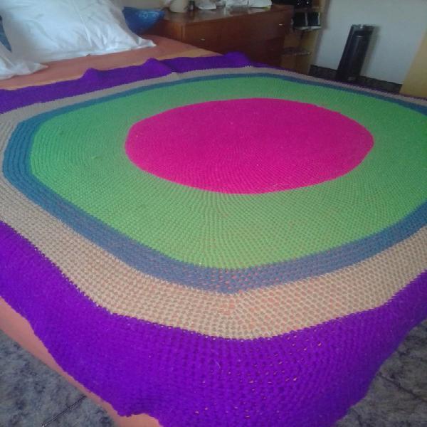 Manta de lana hecha a mano
