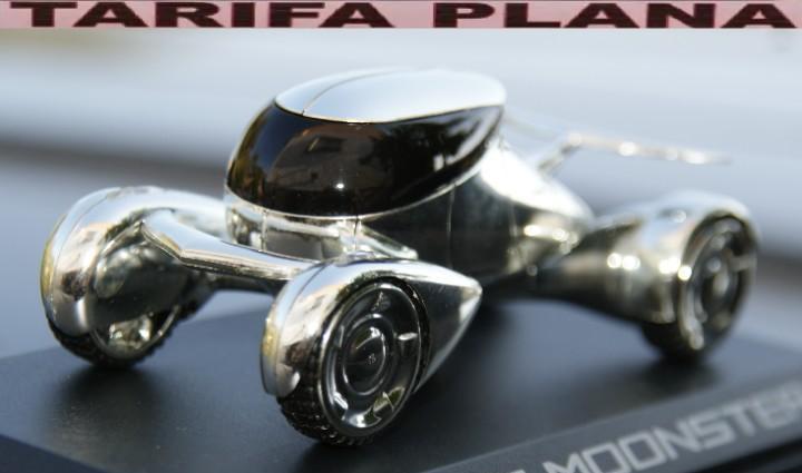 Peugeot moonster escala 1:43 de norev en caja gastos de