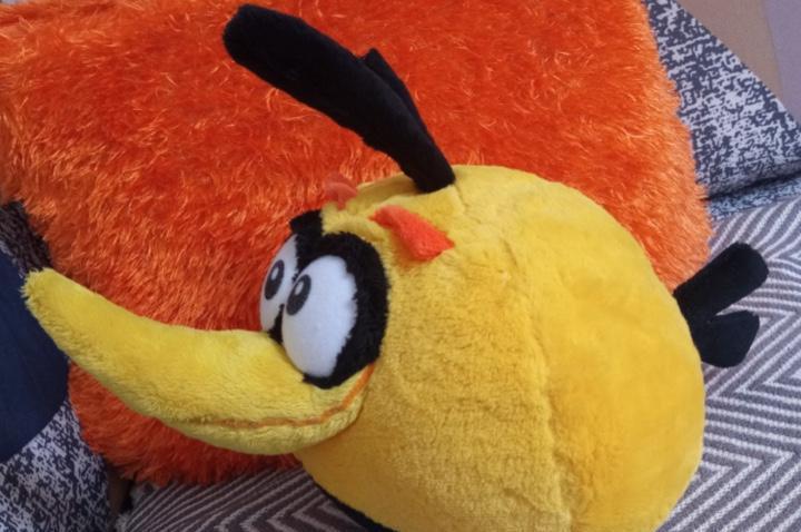 Raro peluche juguete angry birds marca original de rovio 23