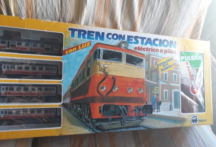 Tren electrico a pilas pequetren.