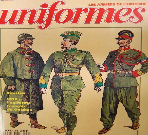 Uniformes les armes de l´histoire nº 116 juillet 1988