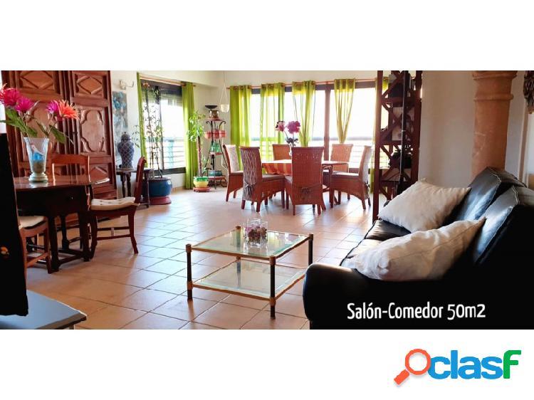 ¡se escuchan ofertas! magnifico piso de 2 dormitorios con vistas al mar benidorm.